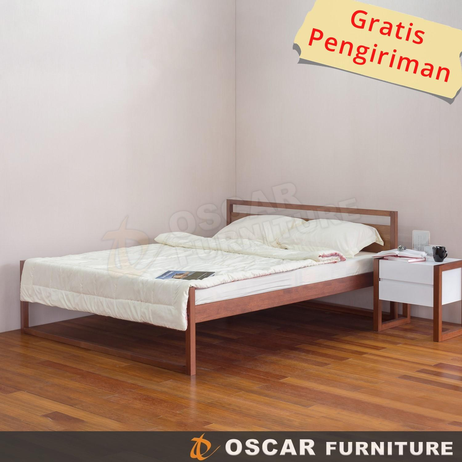 Oscar Furniture - Tempat Tidur Minimalis 160 X 200 (queen) Seri Forte By Oscar Furniture.