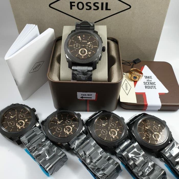 Promo Stok Terbatas !! Jam Tangan Pria Fossil FS-4682 Original 00549 / Jam Berkualitas / Jam Trendy / Jam Termurah / Jam Cantik / Jam Terbaru 2019