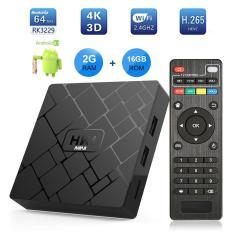 S_way 《 Ban Đầu 》 Mới, HK1 Mini Smart TV Box Android 9.0 2GB + Tặng Kèm RK3229 Quad-Core Wifi 2.4G 4K 3D HK1mini Google Netflix Set-Top-Box