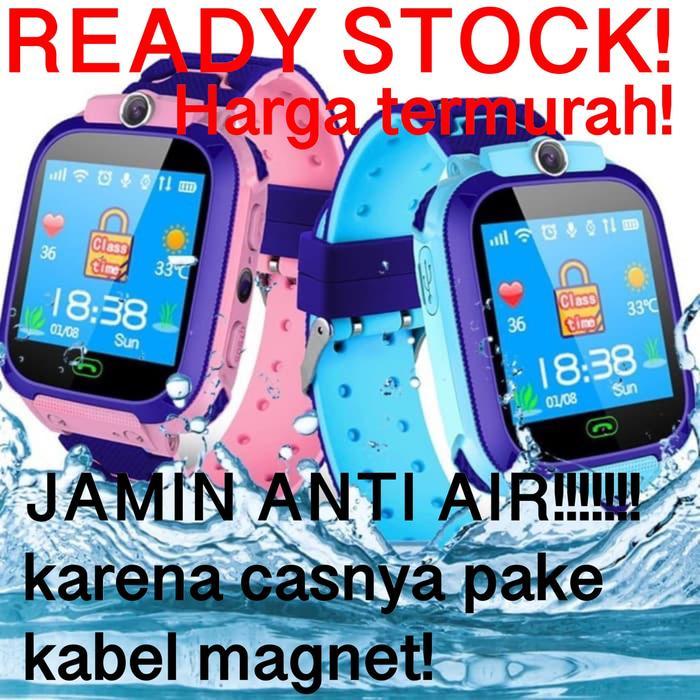 TAHAN Anti AIR  WATERPROFF SOLUTION STORE Jam Tangan IMO Anak Smartwatch Kids Smart Watch camera gps Trackers