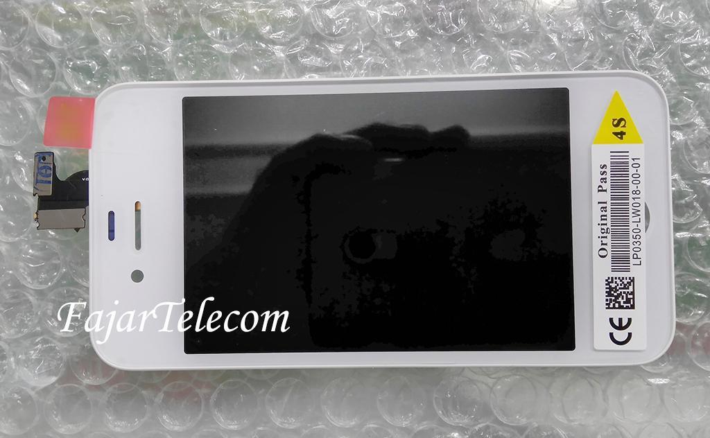 Lcd Apple iphone 4s Model A1387 Fullset Touchscreen Original