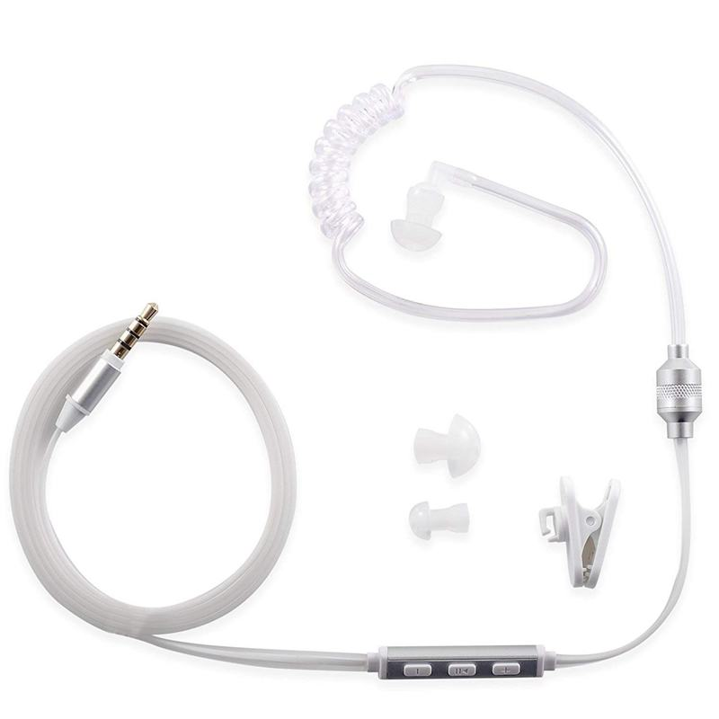 Lazada Giảm Giá Khi Mua Professional Security Headset Earpiece For IPhone Or Android Devices