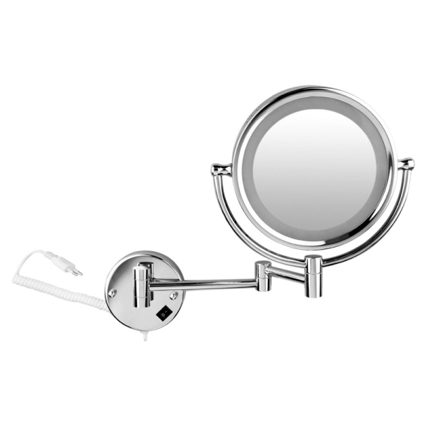 Wall mirror Cheval mirror vanity mirror cosmetic mirror LED Illuminated 7x Zoom Magnification Mirror Makeup jewelry 8.5 inches giá rẻ