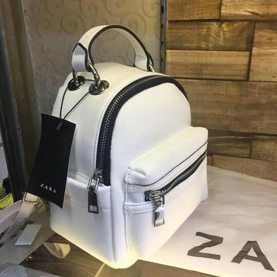 Tas Wanita Zara Original (19x16cm) Multifungsi (slempang,Ransel,jinjing) import