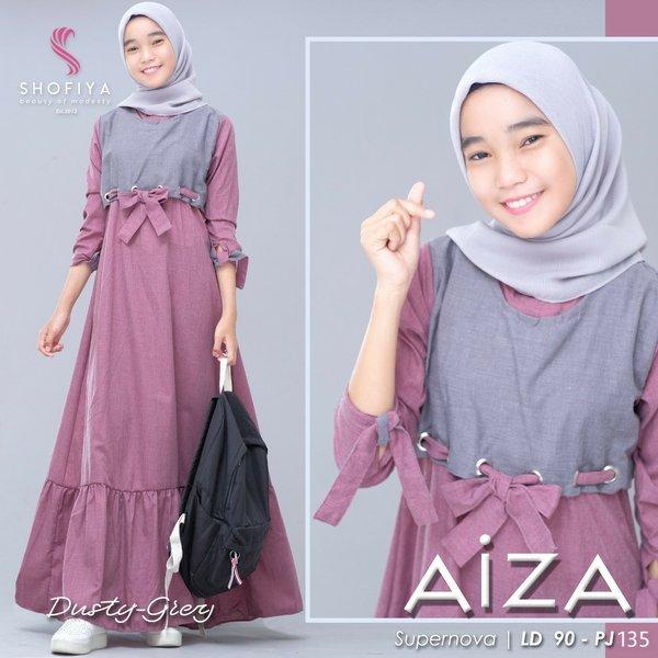 Baju Wanita Gamis Remaja Simple Murah Aiza Dress Kids Supernova Anak Umur 12 15 Tahun Gamis Anak Remaja Baju Muslim Lengan Panjang Model Trendy Modern Baju Muslim Dress Murah Terbaru 2020 Lazada Indonesia