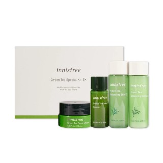 Innisfree Green Tea Special Kit 4 Items Original New Packaging thumbnail