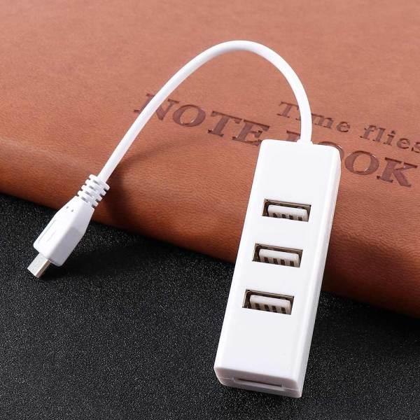Bảng giá Bộ Chuyển Đổi Đa Chức Năng USB Sang OTG Cổng Chia OTG 4 Cổng Micro USB Cáp Nối Cáp Sạc Phong Vũ