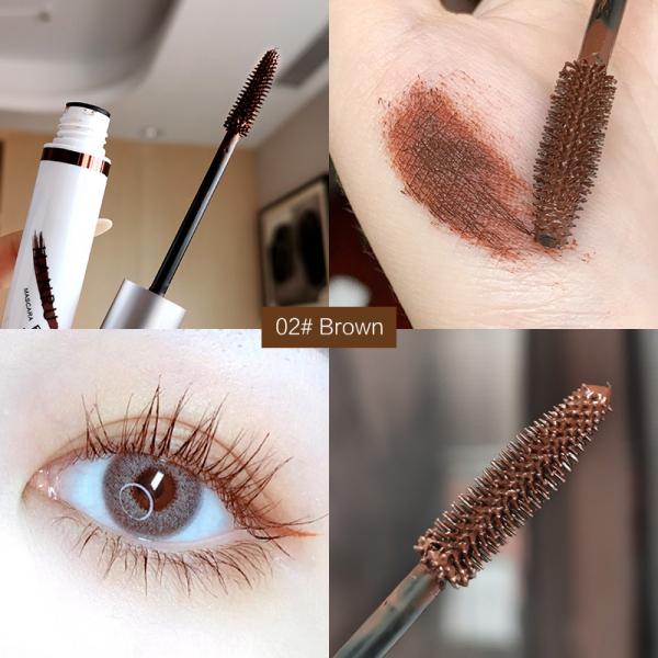 Mascara nhiều màu chống thấm nước làm dày và dài mi phù hợp với nhiều phong cách make up khác nhau Litfly - INTL giá rẻ