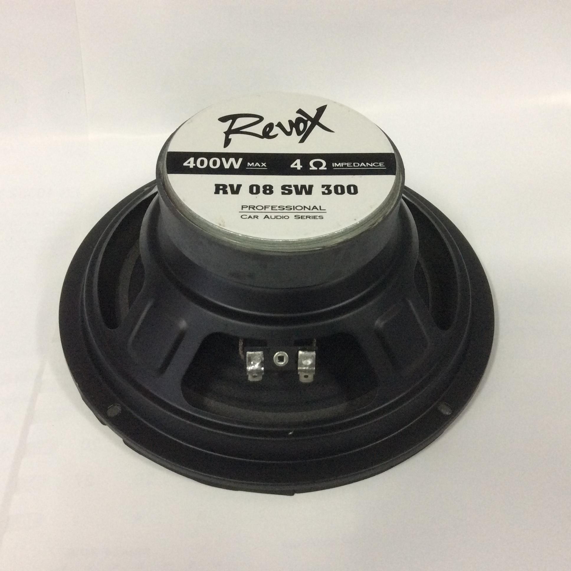 Subwofer 8 inch REVOX RV 08 SW 300. 4 ohm