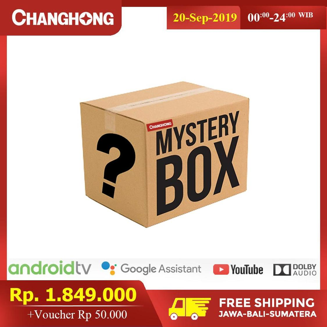 CHANGHONG ANDROID TV MYSTERY BOX
