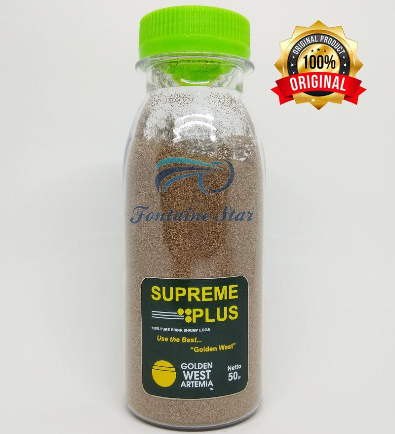 Artemia Golden Supreme Plus 50gram By Fontaine Star.