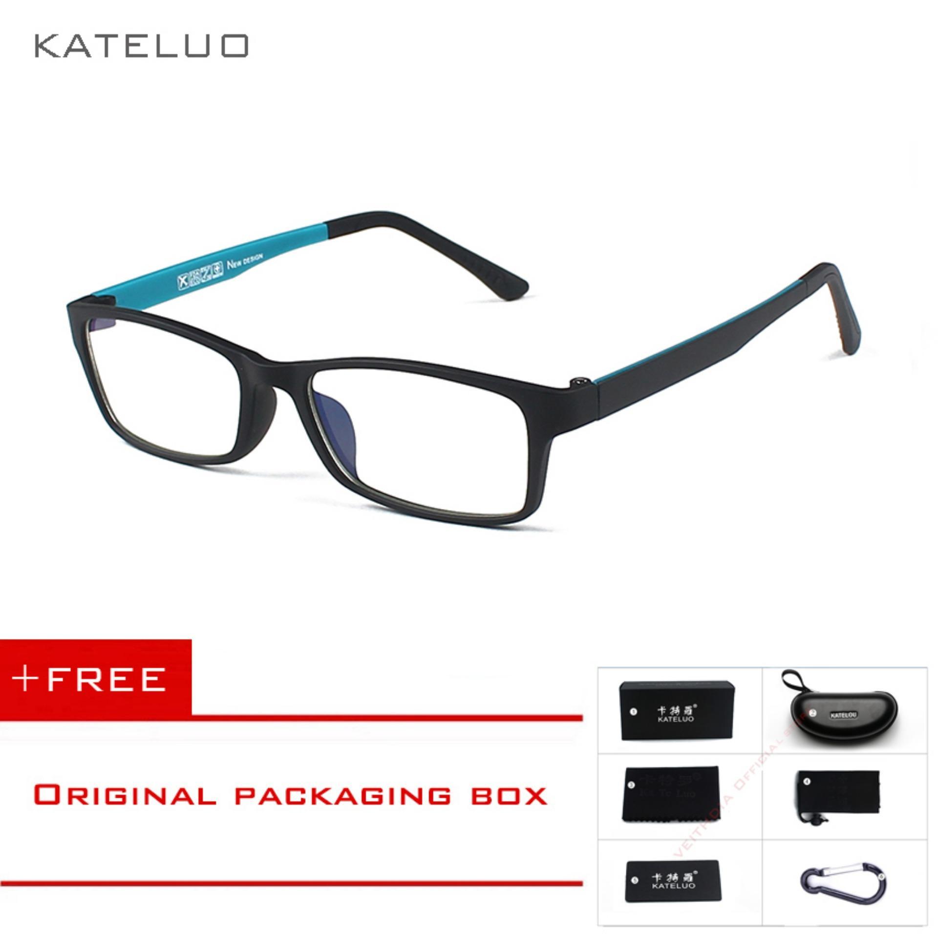 COD+Pengiriman Gratis KATELUO Kacamata Radiasi Kacamat Komputer Anti Lelah  Untuk Pria Wanita 1302 4f6c453e5c