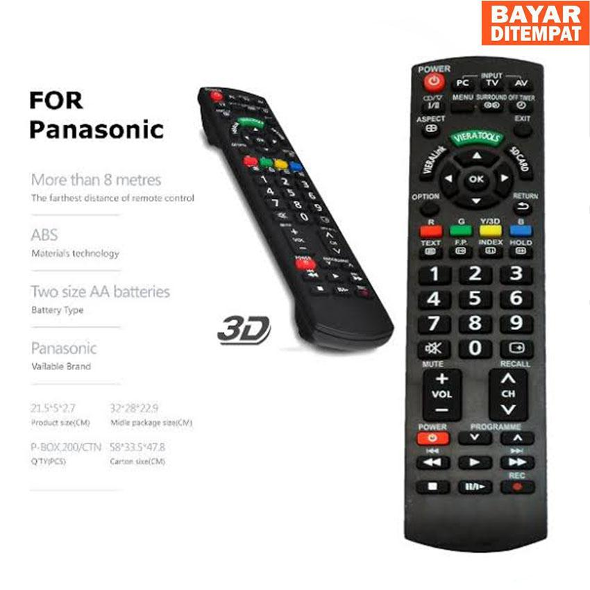Remot/Remote Tv LED Panasonic Dijamin Pasti CONNECK