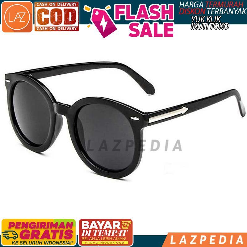 COD -  HITAM ABU ABU UV400  Kacamata Hitam Vintage   Kacamata Unisex    Kacamat 220cbd767e