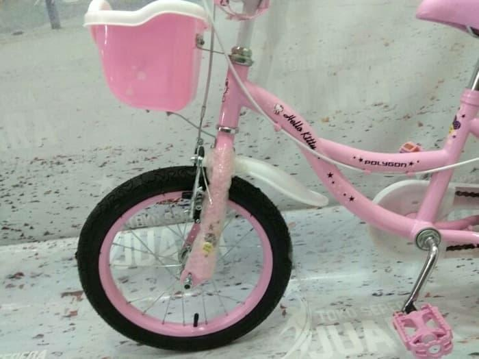 Best Seller SEPEDA ANAK POLYGON HELLO KITTY MINI 16 INCH
