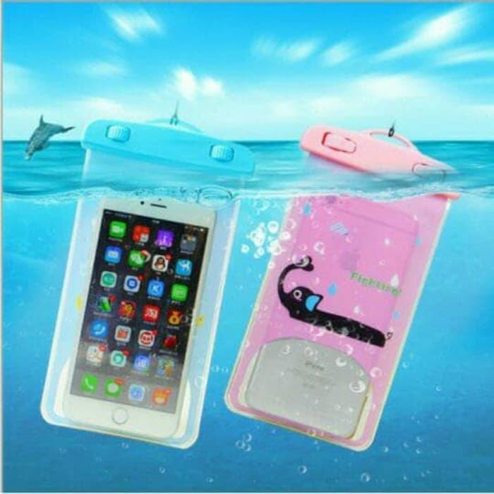 EDW 511 Pouch HP / Smartphone Waterproof Case Karakter/CASE HP KARAKTER WATERPROOF / SARUNG HP WATERPROOF