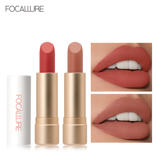 Focallure Staymax Powder Matte Lipstick Tetap 24 jam Nourish Smooth Light Waterproof Lipstik thumbnail