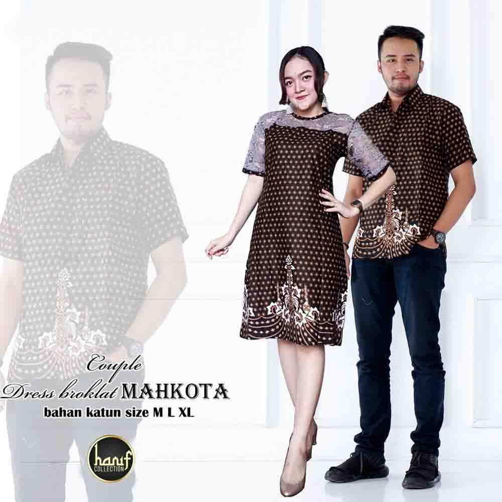 Rp 160.900. Baju Couple Dress Batik Truntum BrukatIDR160900. Rp 162.000. Zr Rania Couple 162.000 Gamis katun busui kombinasi batik katun pinggang pita karet ...