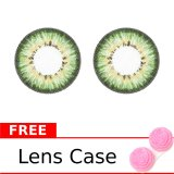 Beli Baby Color Softlens Puffy 3 Tone 21 8Mm Hijau Gratis Lenscase Nyicil