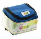 Harga Baby Pax Cooler Bag Set Blue Tas Penyimpan Asi 4 Botol Kaca Asi 3 Ice Gel Baby Pax