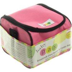 Berapa Harga Baby Pax Cooler Bag Set Pink Tas Penyimpan Asi 4 Botol Kaca Asi 3 Ice Gel Di Jawa Timur
