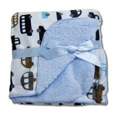 Ulasan Tentang Babymix Selimut Bayi Anak Double Fleece Boys