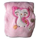Jual Babymix Selimut Bayi Anak Single Fleece Pink Owl Pink Babymix Asli