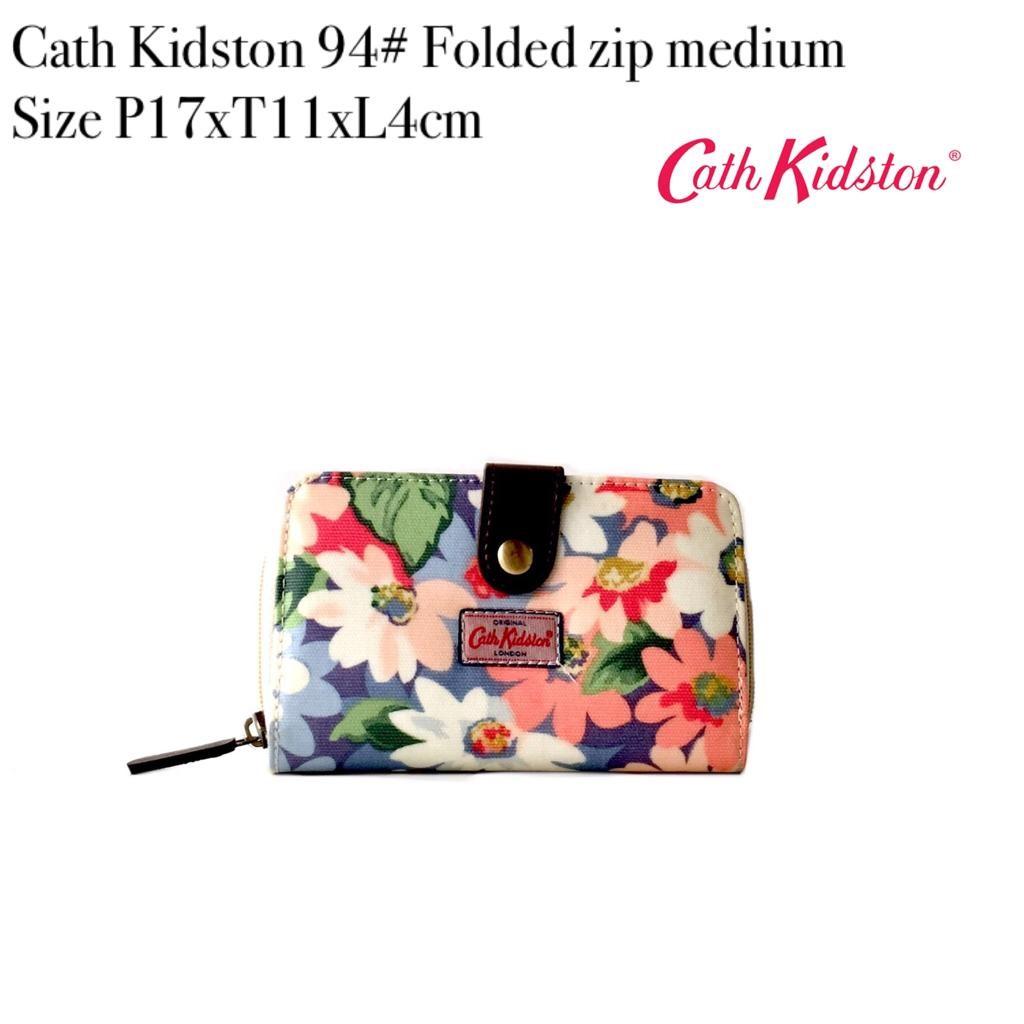 DOMPET Cath Kidston 94 Folded zip medium MURAH TERBARU BRANDED IMPOR