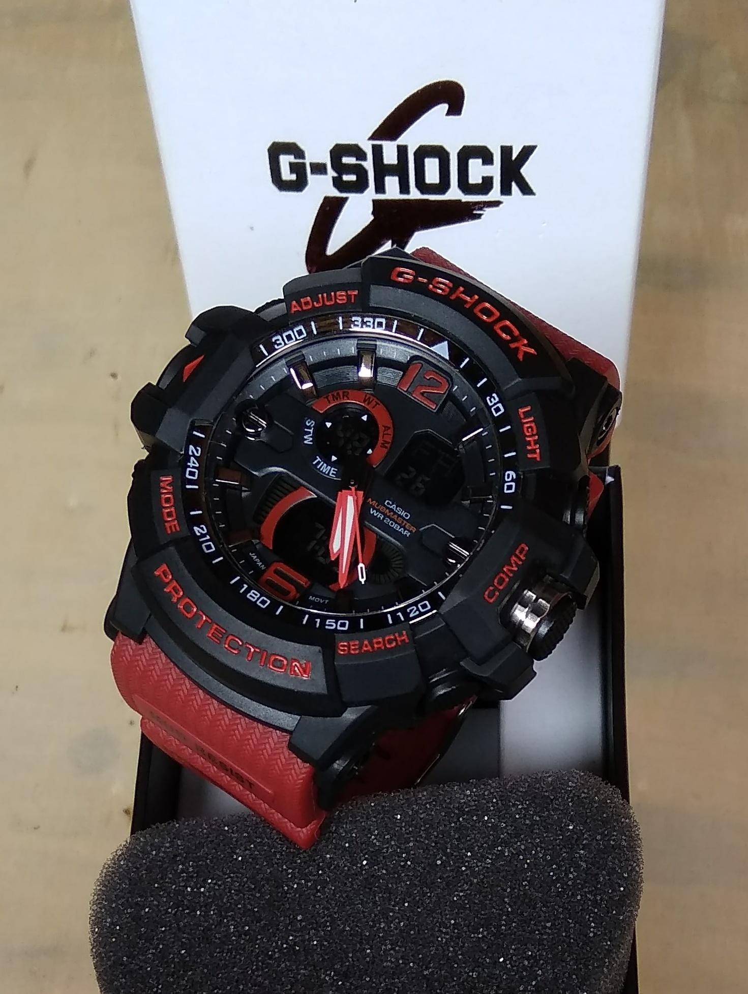 PROMO JAM TANGAN SPORT FASHION PRIA CASIO G SHOCK_GS G2508 NEW DUAL TIME TAHAN AIR / WATER RESIST TERBARU