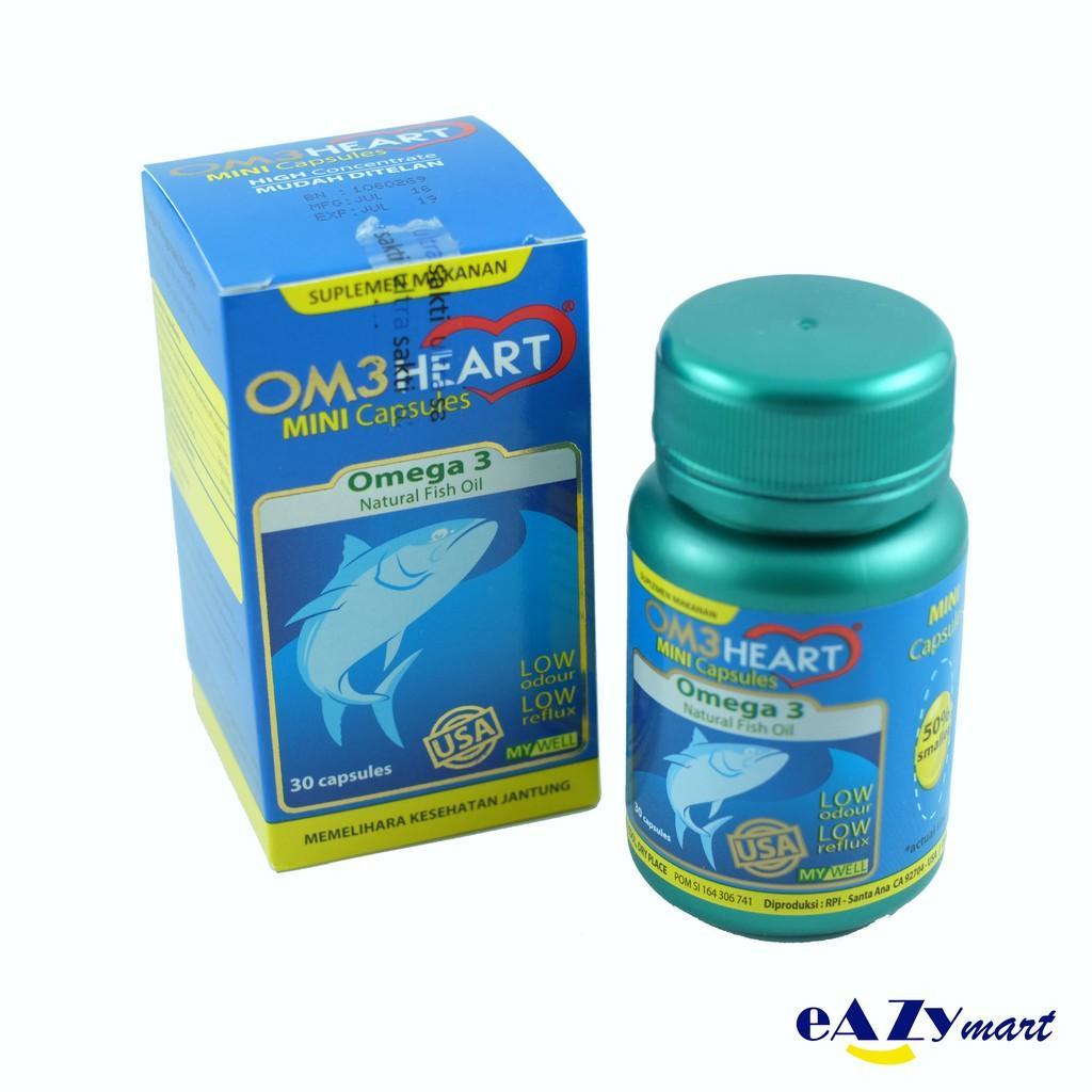 Om3heart / Omeheart Isi 30 Kapsul