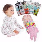 Beli Baju Bayi Sleepsuit 3In1 Jumper Tutup Kaki Lengan Panjang Motif Cewe Cicil