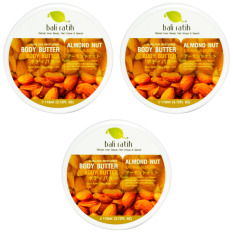Review Bali Ratih Paket Body Butter 110Ml 3Pcs Almond Nut Bali