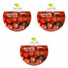 Promo Bali Ratih Paket Body Butter 110Ml 3Pcs Cherry Bali