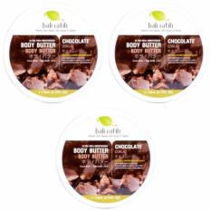 Cuci Gudang Bali Ratih Paket Body Butter 110Ml 3Pcs Chocolate