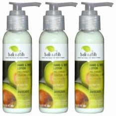 Jual Beli Online Bali Ratih Paket Body Lotion 110Ml 3Pcs Avocado