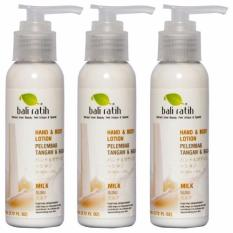 Bali Ratih Paket Body Lotion 110Ml 3Pcs Milk Murah