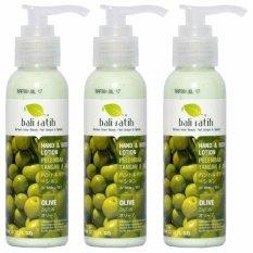 Bali Ratih Paket Body Lotion 110Ml 3Pcs Olive Asli