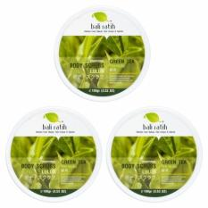 Jual Bali Ratih Paket Body Scrub 110Ml 3Pcs Green Tea Di Bawah Harga