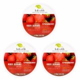 Bali Ratih Paket Body Scrub 110Ml 3Pcs Strawberry Murah