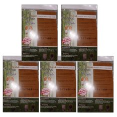 Bamboo Gold Foot Patch - 5 Pasang Premium Detox Foot Patch
