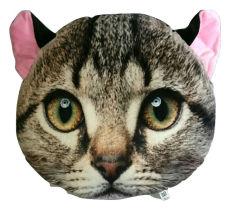 Promo Bantal Boneka Kucing 3 Dimensi Motif C Murah