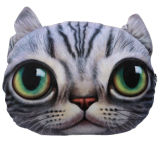 Iklan Bantal Boneka Kucing 3 Dimensi Motif F