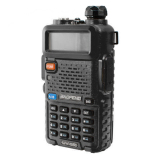 Model Baofeng Walkie Talkie Ht Handy Talkie Uv5R Uv 5R 1 5 Lcd 5W 128 Ch Dual Band Uhf Vhf Hitam Terbaru