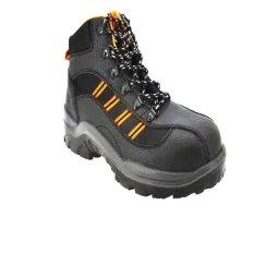Bata Sepatu Safety Industrials Tipe Charleston - Hitam