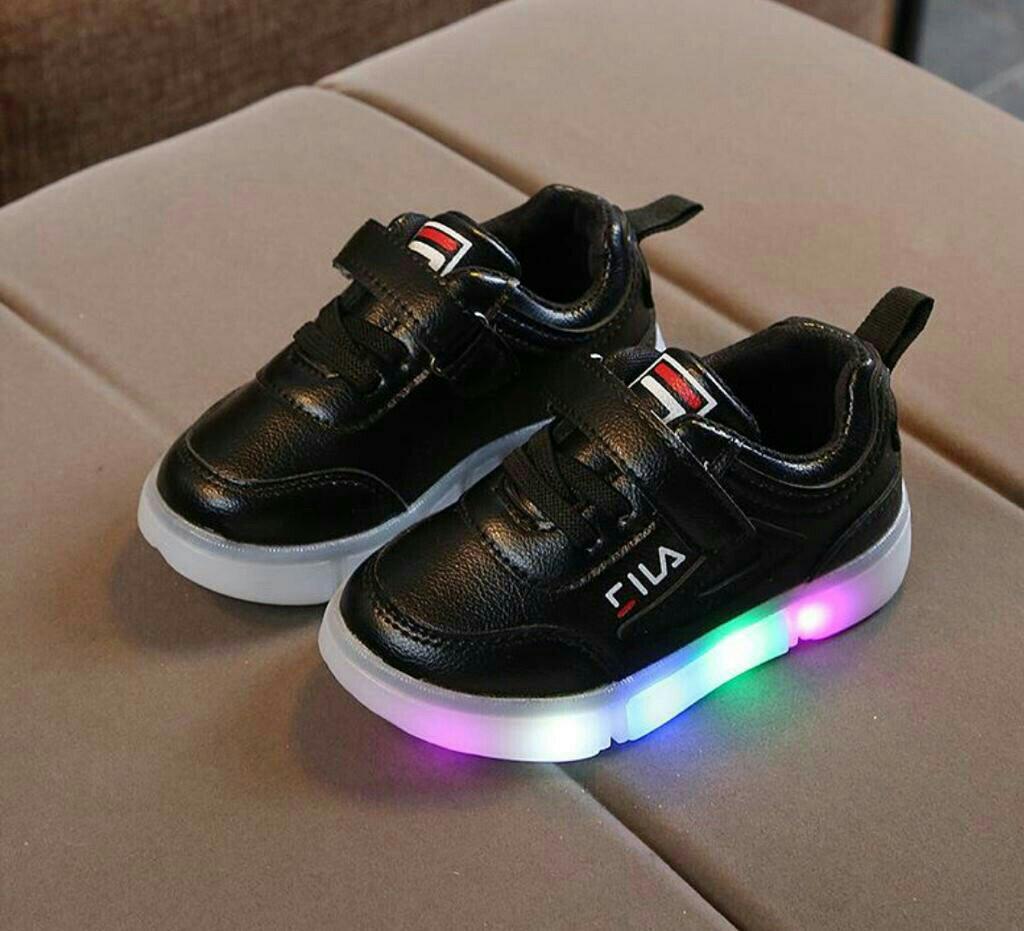 Myeisha14 CILA Shoes Sepatu Anak Perempuan Anak Laki-laki dengan Lampu LED  Sneaker Anak Balita 3d4733a576