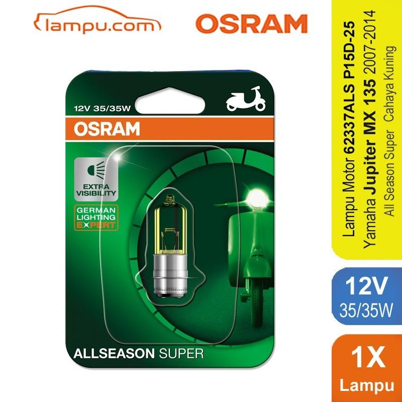 Osram Lampu Depan Motor Yamaha Jupiter MX 135 2007-2014 - 62337ALS - All Season Super