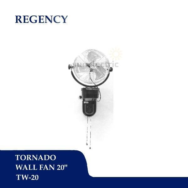 """Regency 20"""" / 51 cm Tornado Wall Fan / Kipas Angin Dinding TW-20"""