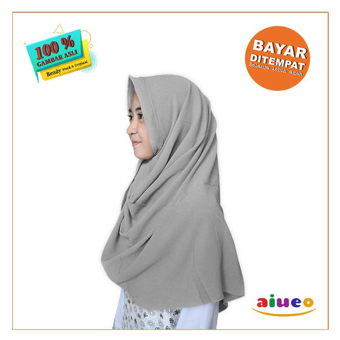 Angel Hijab Kerudung Jilbab Terbaru 2019 Pasmina Pashmina Instan Pastan Instant Crepe Medium Trend Style Murah