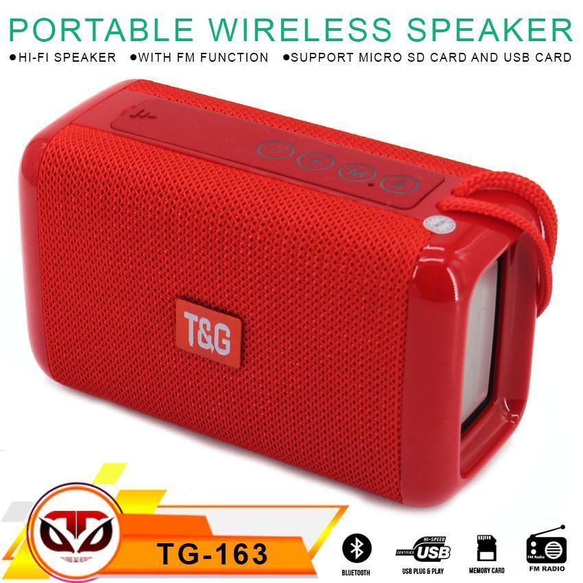 SYF-Shop Speaker Bluetooth Portable Wireless Smart TG-163 FM/SD/USB