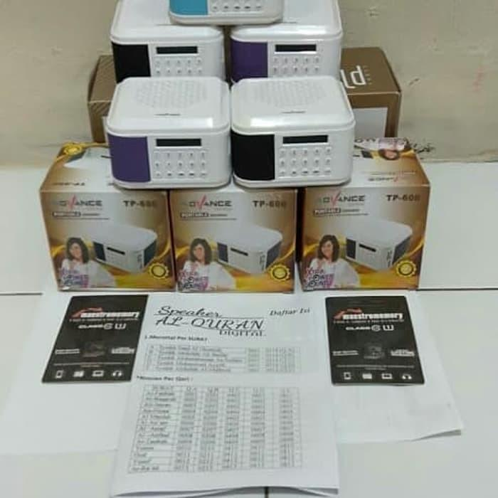 SPEAKER MUROTAL ADVANCE TP 600 ISI 30 JUZ + MEMORY 8 GB